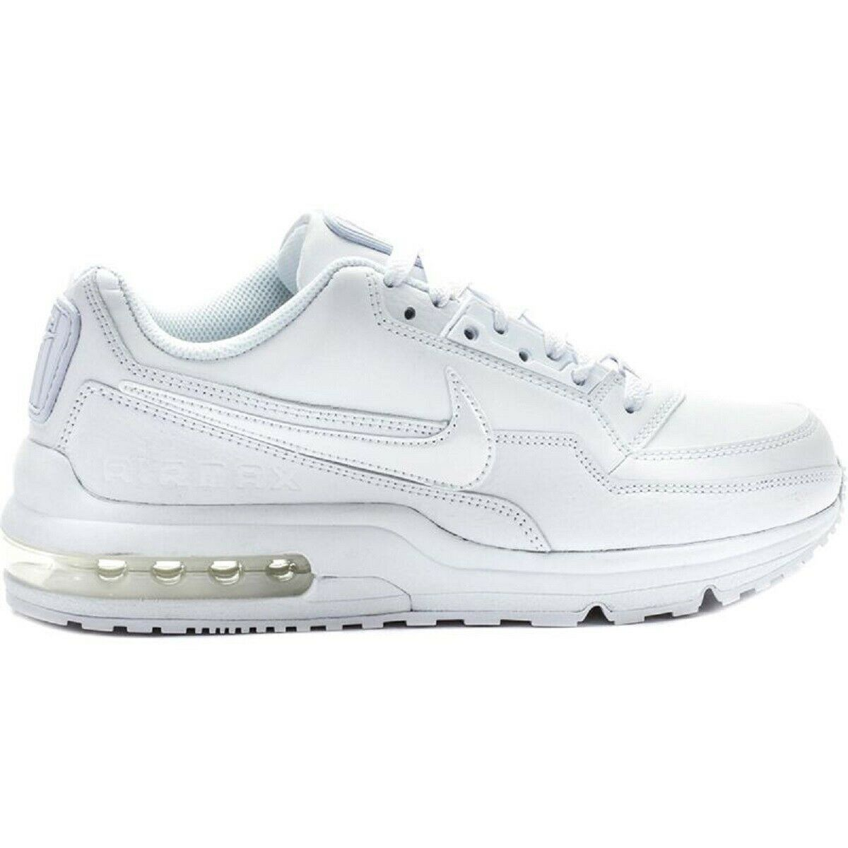 NIKE Air Max LTD 3 Weiß Bianco Turnschuhe schuhe Ginnastica herren Man Leather Pell