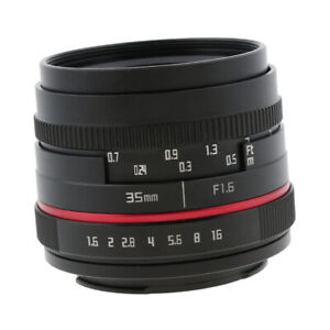 Prime-Fixed-Lens-Portrait-F1-6-F16-35mm-for-Sony-E-Mount-Mirrorless-Camera