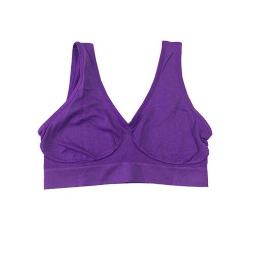 Women Gym Sports Bra Tank Vest Cropped Tops Yoga Underwear Bras Tops