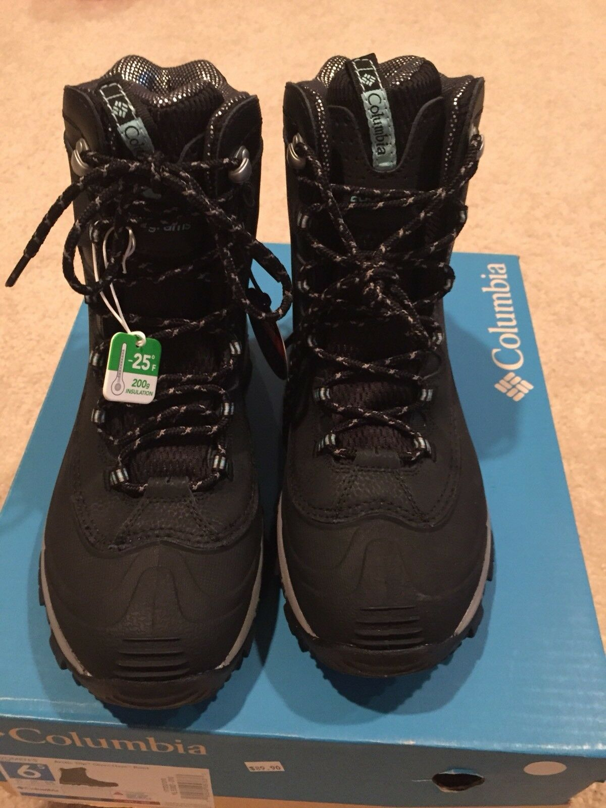 COLUMBIA ARCTIC TRIP OMNI-HEAT WOMEN'S WATERPROOF SNOW SKI BOOTS MSRP