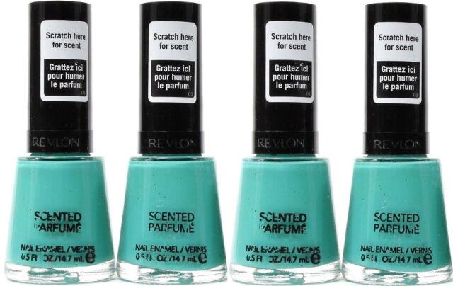 Revlon Scented Nail Polish MINT Gelato Enamel Limited Edition ...