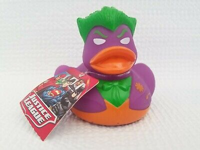 Coolites JOKER Flashing Rubber Duck DC Justice League Brand New w// Tag