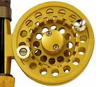 INTEGRA Gold Fly Reel # 1/2 wt., with Line, Leader, and Backing.