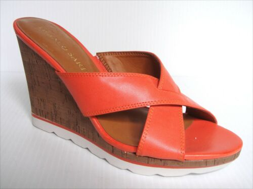 New  Franco Sarto Osborn  wedge women/'s shoes size US 7.5 EU 38.5