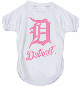 NEW-DETROIT-TIGERS-PET-DOG-PINK-PERFORMANCE-T-SHIRT-ACTIVE-TEE-ALL-SIZES