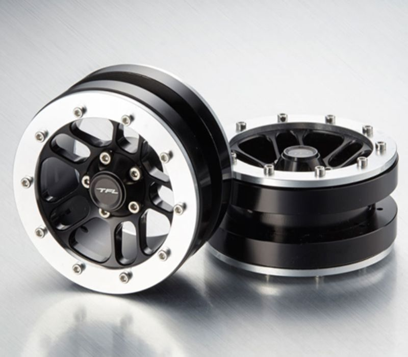Axial SCX10 RC Wraith 1 10 Crawler Biketrial 1.9'' Emulation 10-Spoked Wheel TFL