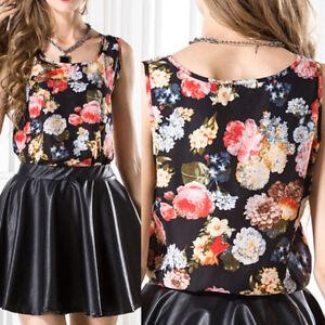 Summer-Women-Floral-Chiffon-Tee-Vest-Tops-Sleeveless-Casual-Loose-T-Shirt-Blouse