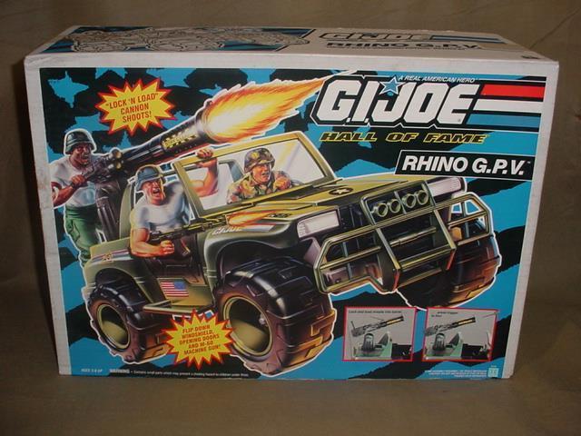 Vintage besiegelte 1993 hasbro gi joe hall of fame  gpv jeep misb mib