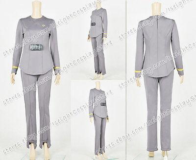 The Motion Picture Cosplay Ilia Deltan Navigator Uniform Costume Star TrekⅠ