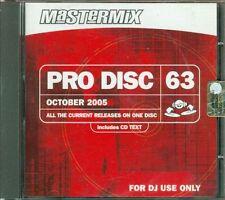 Pro Disc Mastermix 63 - Depeche Mode/Mariah Carey/Paul Anka Cd Sigillato