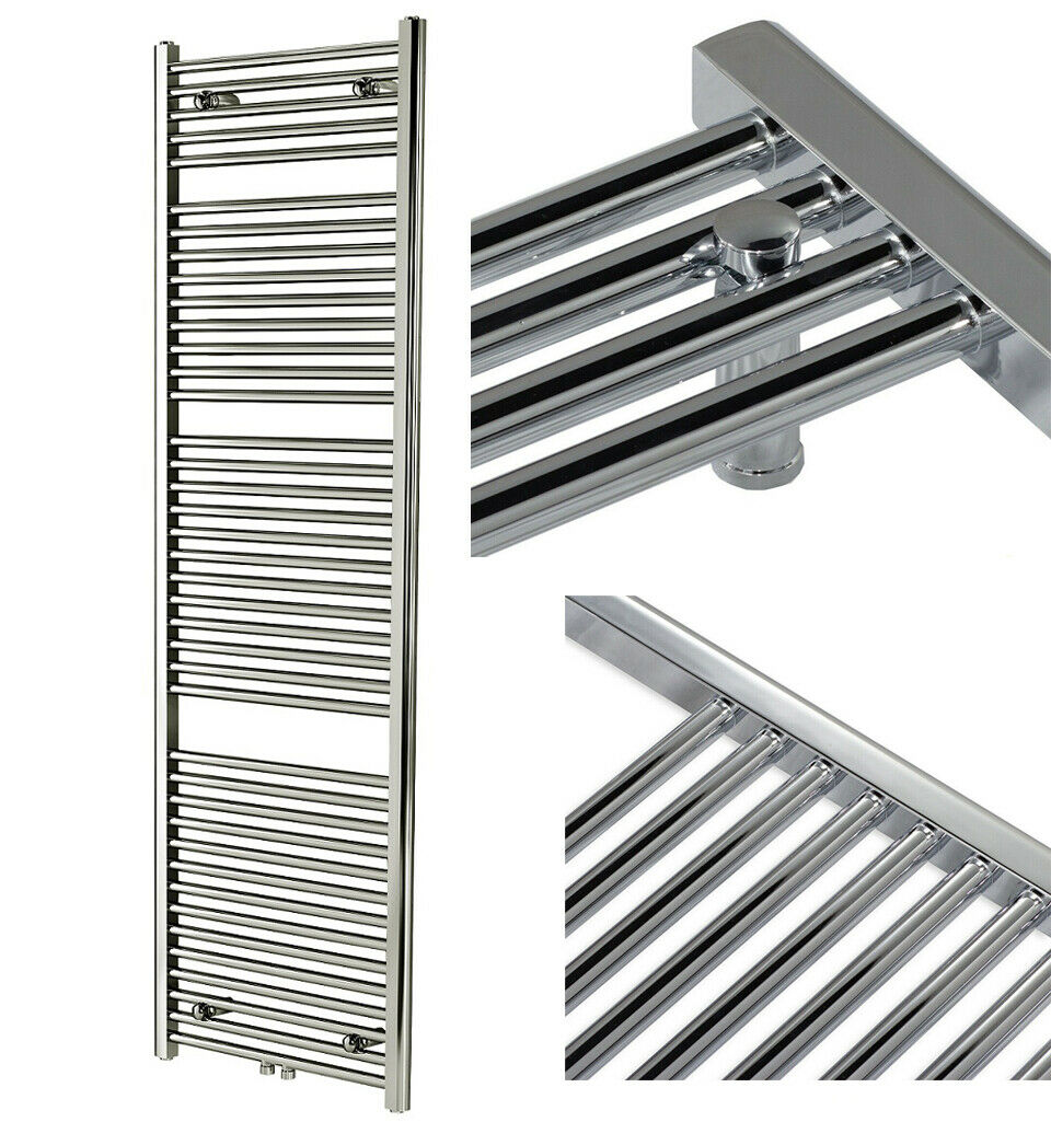Chrome bathzimmer radiator radiators with Central Connector Towel Dryer Heater