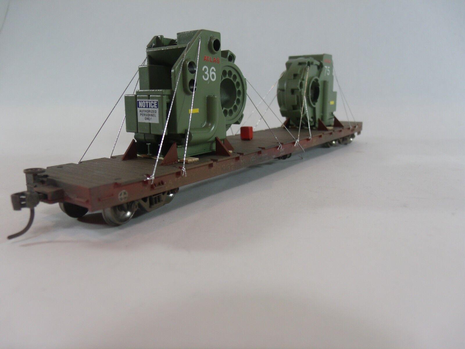 Escala Ho Maqueta De Ferrocarriles & trenes-vagones de carga Intustrial carga personalizada
