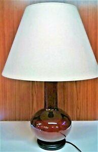 Lampe Avec Vase Chinois Début 20 ème Haut 30 Diam 18 Cm