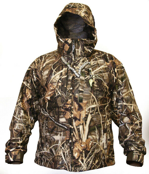 Drake Waterfowl DW305002-08 Size 8 Youth  Lst Insulated Coat Max4 Camo 13631