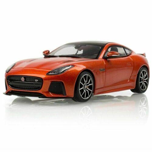 Jaguar F-Type SVR Coupe Orange IXO 1:43 Model Car. SCALE