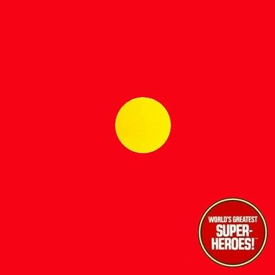 "Mego Iron Man Ironman Vinyl Die Cut Repro Decal Emblem Sticker WGSH 8"" Figure"