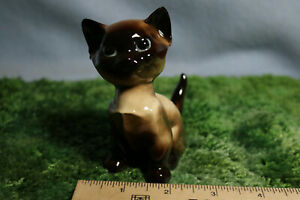 "HTF Vintage Hagen Renaker DW Designers Workshop /""An How/"" Siamese Cat Figurine"