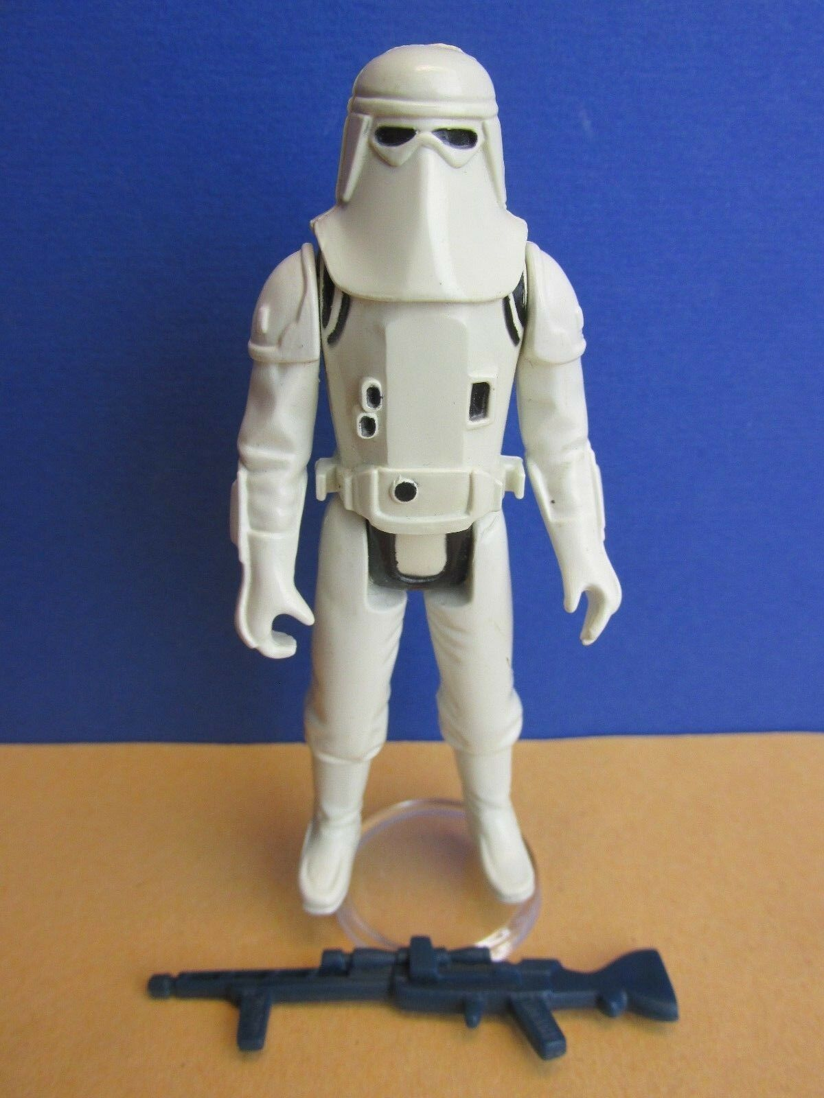 Rare ORIGINAL vintage star wars YPS IMPERIAL SNOW STORMTROOPER ACTION FIGURE 53J
