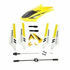 US Syma Full Replacement Parts Set Head Cover for Syma S107G RC Helicopter Yello
