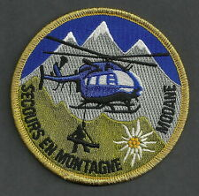 MODANE ALPS FRANCE SECOURS EN MONTAGNE MOUNTAIN SEARCH & RESCUE PATCH