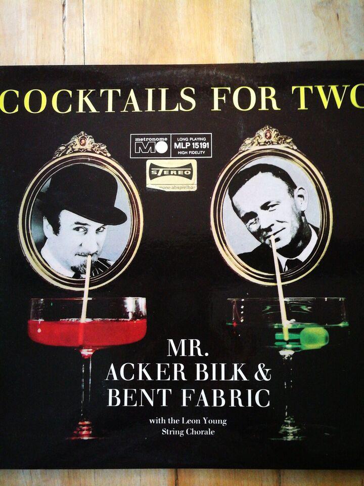 LP, Mr Acker Bilk og Bent Fabric, Cocktails for two