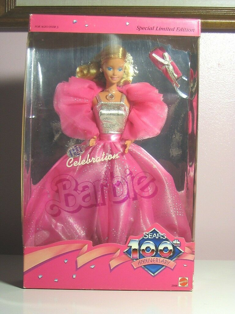 Mattel-Barbie - 1985 100th Sears aniversario Barbie