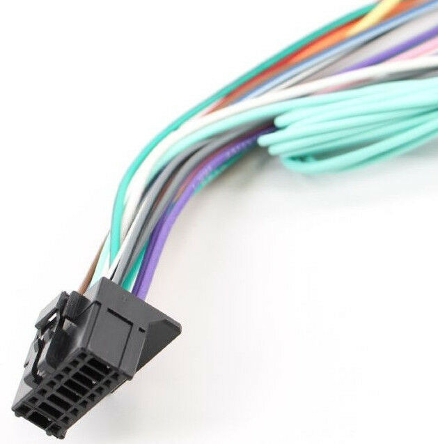Peachy Xtenzi Power Cord Wire Harness Plug For Pioneer Avh X1500Dvd Wiring Cloud Battdienstapotheekhoekschewaardnl