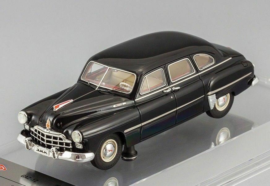 GAZ-12 ZIM noir 1952 (Ltd Edition 252 pcs) DACD 1000 A DIP Models 1 43 Neuf OVP
