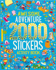 Awesome Adventure 2000 Stickers Activity Book by Parragon Book Service Ltd (Paperback, 2016)