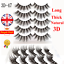 5Pairs-3D-Natural-False-Eyelashes-Long-Thick-Mixed-Fake-Eye-Lashes-Makeup-Mink thumbnail 3