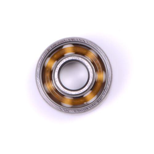 608 Ceramic Ball Inline Speed Bearing für Finger Spinner Skateboards Drift PRSQE
