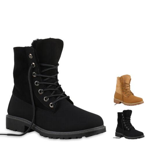893820 Damen Boots Outdoor Stiefel Stiefeletten New Look