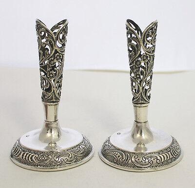 2 Serviettenständer in 835er Silber