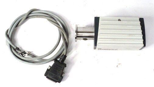 LEYBOLD VAKUUM ITR90 SENSOR TRANSMITTER W/ DISPLAY & CABLE 20-28VDC 16W