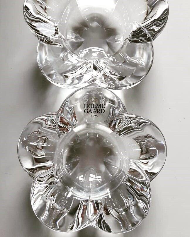 Glas, Lysestage, Holmegaard - Torben Jørgensen