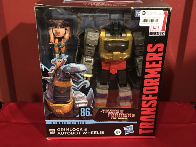 Transformers Studio Series 86-06 Leader Grimlock and Autobot Wheelie New In Hand