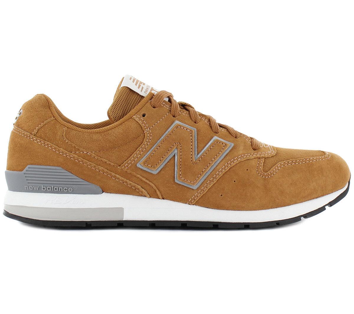Nuovo stile di bilanciamento 996 Revlite  scarpe da ginnastica Leather Marronee MRL96SD  100% nuovo di zecca con qualità originale