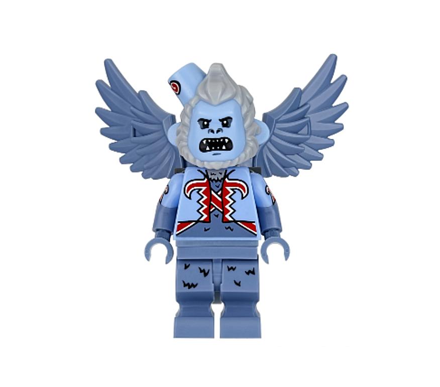 Lego Fliegening Monkey 70917 Teeth Barot Batman Movie Super Heroes Minifigure
