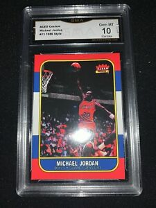 1986-87-Art-Style-Michael-JORDAN-rookie-ACEO-GRADED-Gem-MINT-10-PSA-alternative