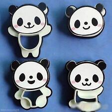 NEU Süße Panda Form Brötchen Ausstechformen Brot  Mold Cutter Werkzeug 1*Sets