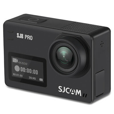 Original Sjcam SJ8 pro 4K Wi-Fi Cámara de Acción 12MP Anti-movimiento