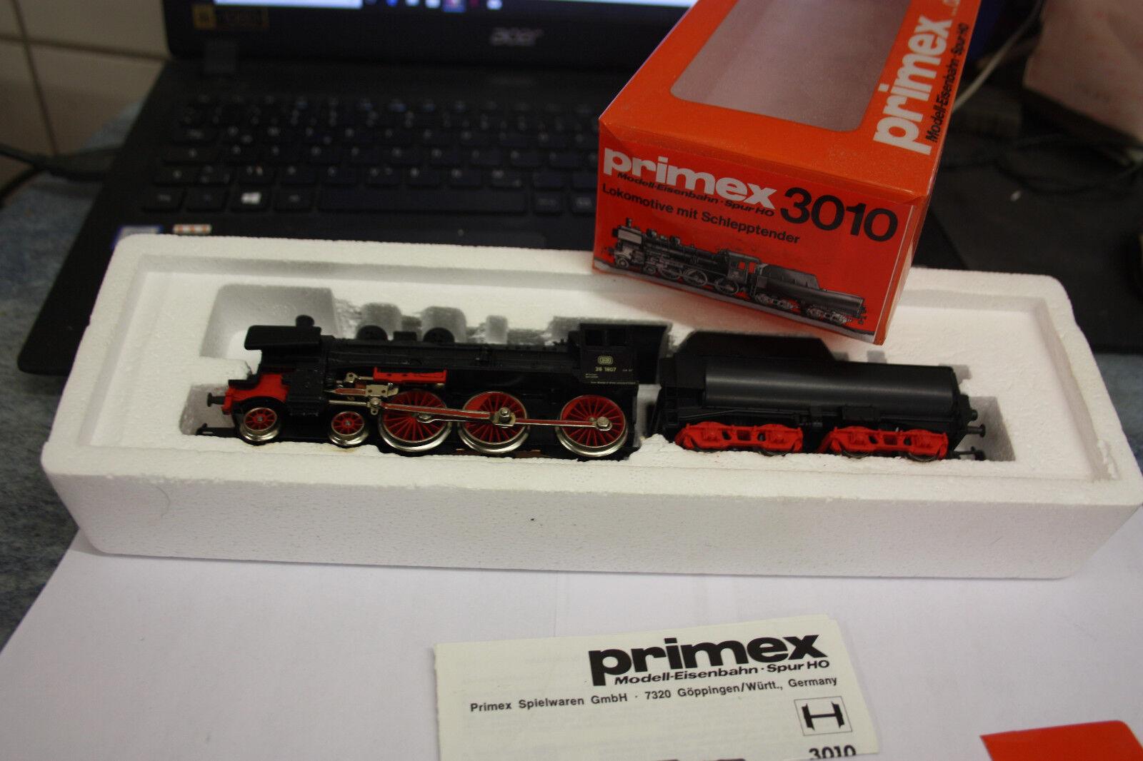PRIMEX di marklin HO h0 3010 a vaporeLok BR 38 p8 della DB TOP  OVP  kc19