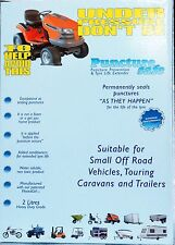 Puncturesafe Tyre Sealant Heavy Duty, Caravans, Trailers,Off Road  , 2*1 kit