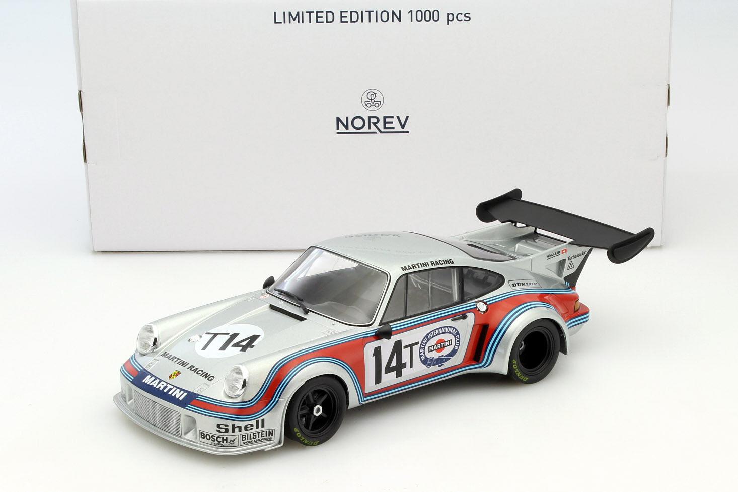 Porsche 911 rsr 2.1 turbo  14t practice 1000km spa 1974 Müller, van Lennep 1 18