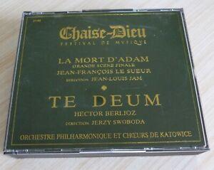 RARE-BOX-2-CD-ALBUM-CHAISE-DIEU-FESTIVAL-DE-MUSIQUE-LA-MORT-D-039-ADAM-TE-DEUM