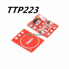 10pcs Ttp223 Capacitive Touch Switch Button Self Lock Module For Arduino