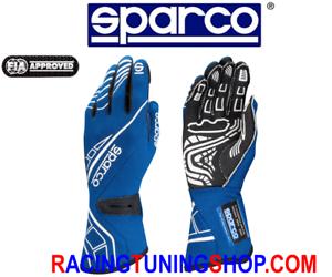 GUANTI-AUTO-SPARCO-LAP-RG-5-OMOLOGATI-FIA-RACING-GLOVES-HANDSCHUHE-BLUE