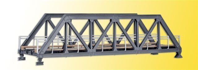 Kibri 39701 Acier-Pont, à Voie Unique, Kit de Montage,