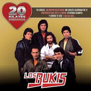 Los-Bukis-Bukis-20-Kilates-Romanticos-New-CD