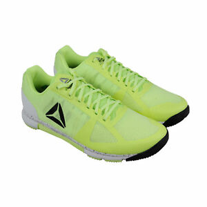 1f6ada131663b4 Reebok Speed Tr Mens Green Mesh Athletic Lace Up Training Shoes sz ...